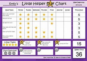 Little Helper Star Chart_EXAMPLE - MindingKids