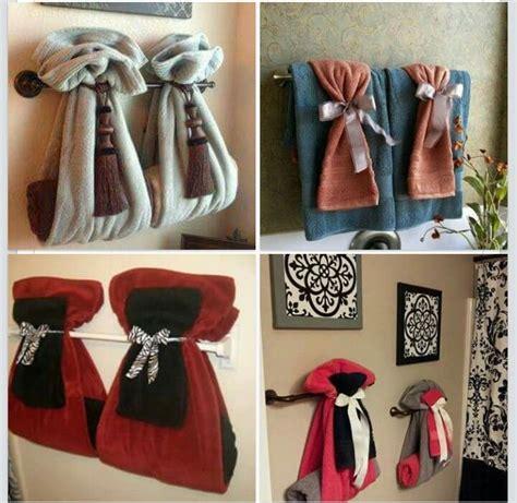 bathroom towel decorating ideas different ways to hang bathroom towels bathroom ideas