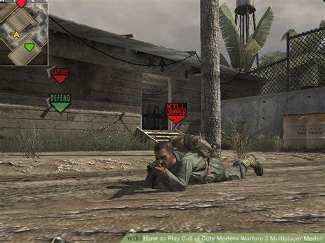 play call  duty modern warfare  multiplayer modes