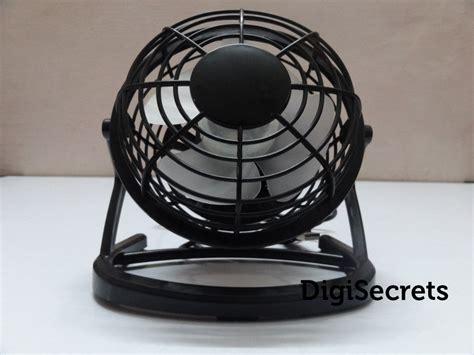 mini desk fan portable usb mini desk fan review digisecrets