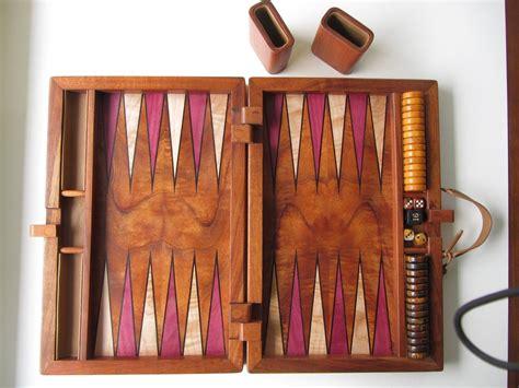 custom  koa inlaid backgammon set  creative artistry