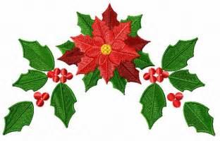 christmas motifs poinsettia machine embroidery designs ebay
