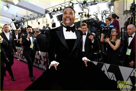 Pose Billy Porter Wears Tuxedo Gown Oscars Red
