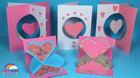 And ever year, my boys come home with the cutest cards from the classmates while we handed out the cardboard boxed kind. DIY Pop Up Valentines Day Card for Kids - Preschool Home ...