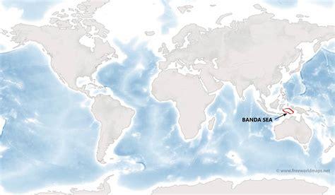 banda sea map  freeworldmapsnet