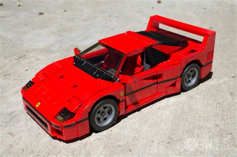lego f40 the lego f40 is a masterpiece review lewis leong