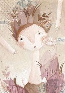 Angeli Di Tutti I Giorni Nelle Illustrazioni Di Anastasiya Prosvetova
