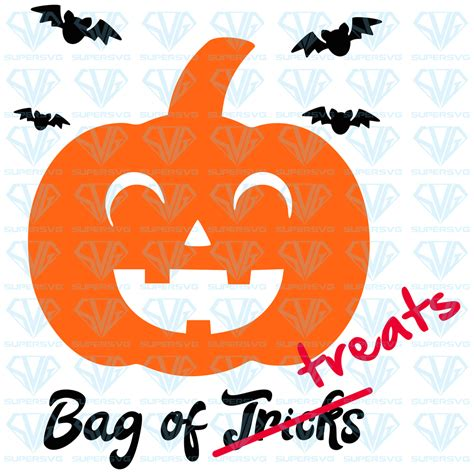 It is a creative source for design news, inspiration, graphic resources and interviews. Pumpkin - Trick Or Treat Bag SVG Files For Silhouette ...