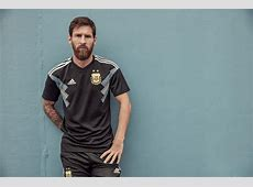 2018 World Cup Argentina Away Black Soccer Jersey Shirt