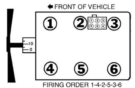 Spark Plug Wire Order Engine Mechanical Problem Ford