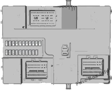fuse box diagram gt ford transit 2015 2019