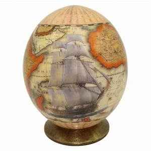 Oeuf D Autruche : oeuf d autruche d cor bateau voilier oeuf collection ~ Melissatoandfro.com Idées de Décoration