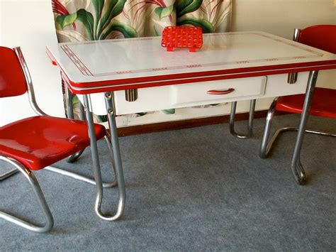 Vintage Kitchen Table And Chairs by I This Table Retro