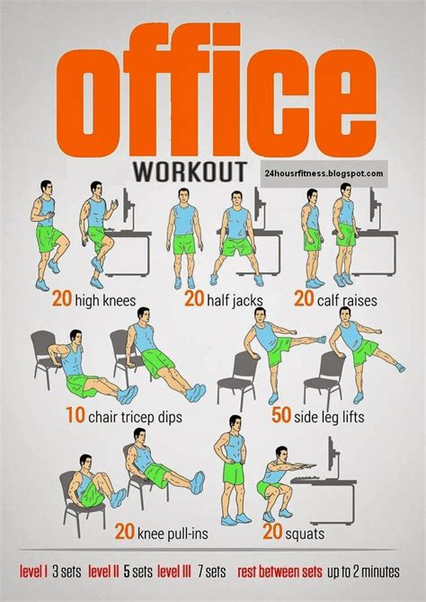 25 best ideas about office workouts on