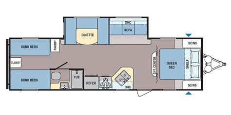 coleman travel trailers floor plans coleman ultralite