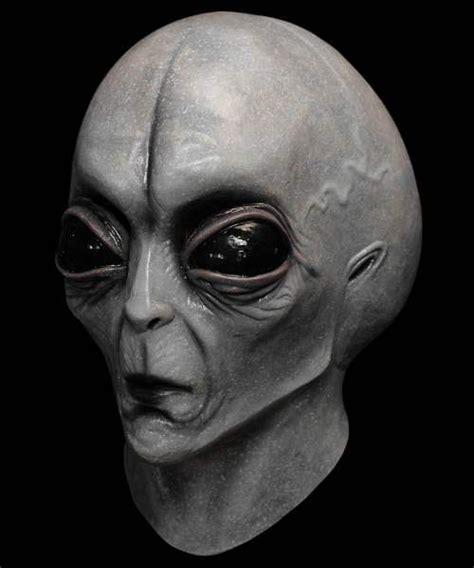 Maska lateksowa - UFO Szarak