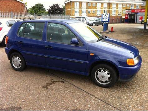 volkswagen polo 1999 used volkswagen polo 1999 petrol 1 4 cl 5dr hatchback blue