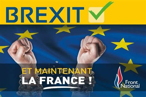 brexits long shadow falls  french presidential campaign euractivcom