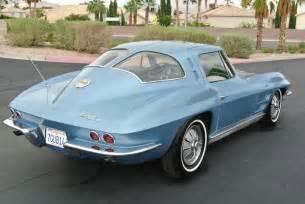 split window corvette years no reserve split window 19k mile 1963 chevrolet corvette