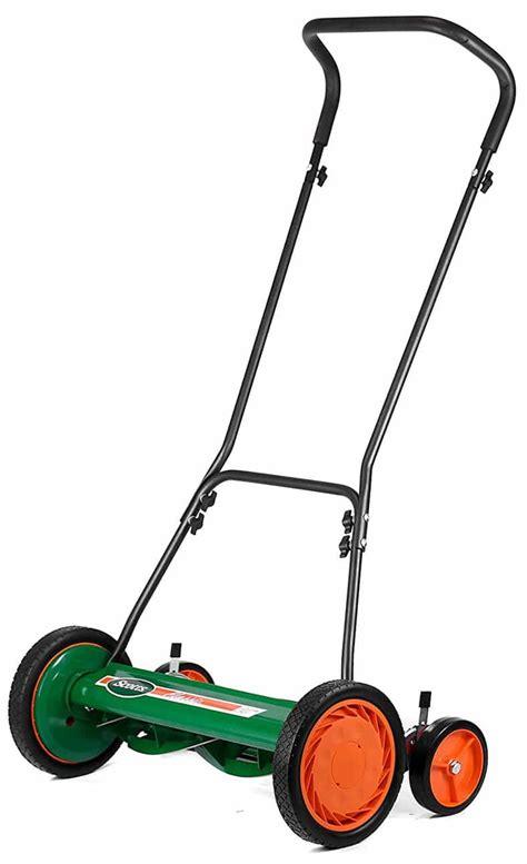 scotts     classic push reel lawn mower review