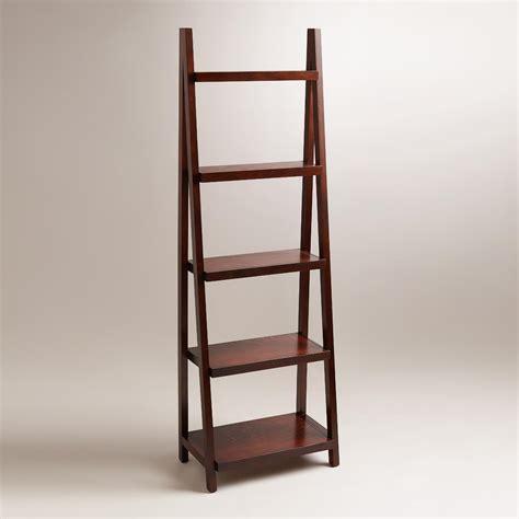 Slanted Bookcases by Espresso Charles Slanted Bookshelf World Market