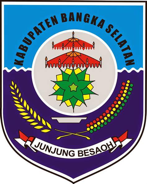 logo kabupaten kota logo kabupaten bangka selatan