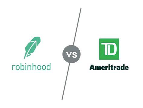 robinhood  td ameritrade investopedia