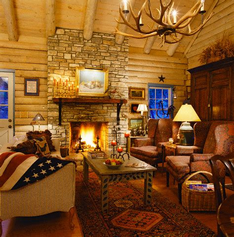 Log Cabin Interior Design  Log Cabin Decor