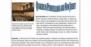 Pilgrims Vs Puritans Venn Diagram