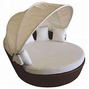 Rattan Lounge Mit Dach : hochwertige rattan lounge sonneninsel mit klappbarem sonnendach 166xh135cm rattaninsel ~ Bigdaddyawards.com Haus und Dekorationen