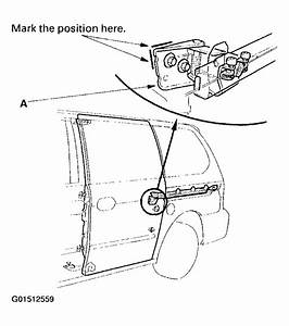 2005 Honda Odyssey Sliding Door Parts Diagram