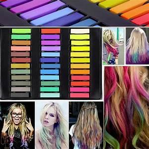 36 Colors Hair Dye Easy Temporary Colors Non Toxic Hair