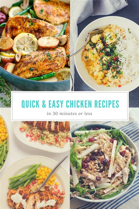 easy dinner recipes with chicken post shiny happy bright
