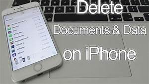 how to delete documents and data on iphone 7 6s 6 se 5s 5c With delete documents and data on iphone 7