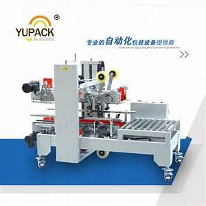 China Yupack I Shape Side And Corner Sealing Automatic Box