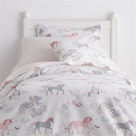 pink and gray bedroom pictures enchanted unicorn percale sheets bedding set the
