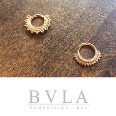 rose gold septum clicker rings
