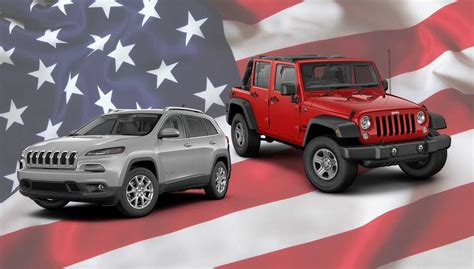 Jeep At The Top Of Cars.com List Of American-made Vehicles