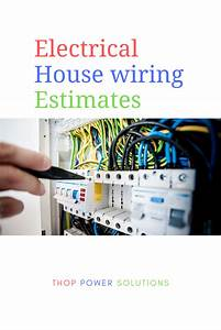 Electrical Estimating For A House Electrical Estimating