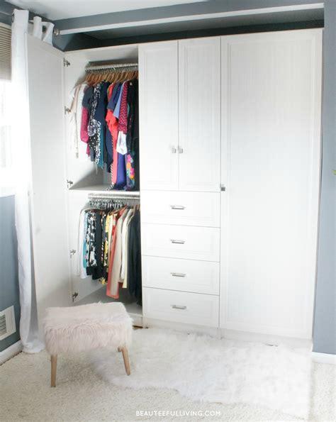 custom closet armoire installation