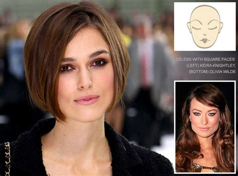 hairstyles  square face shapes hairstyles ideas