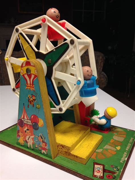 Musical antiques and their connection with the past makes collecting so very appealing, but they also provide cultural education and serve as a decorative pieces that exude character and charm. Vintage 1967 Fisher Price Ferris Wheel Music Box by ...