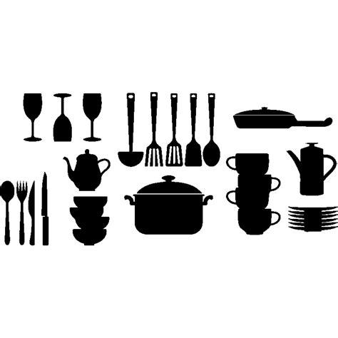 couvert cuisine sticker couvert et ustensiles de cuisine