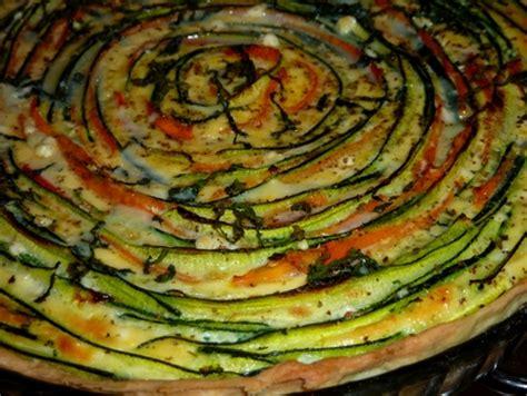 recette cuisine legumes recette tarte serpentin de légumes cuisinez tarte