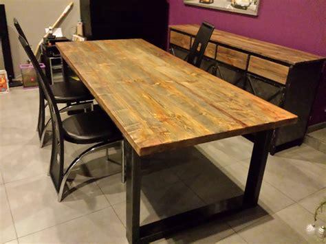 table et banc de cuisine table en bois avec banc photos de conception de maison