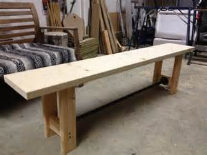 DIY Pipe and Wood Bench