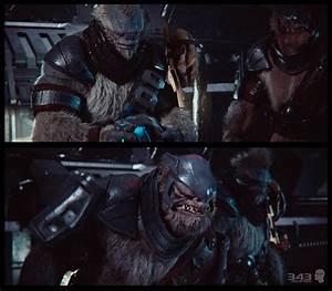 Halo 2 Anniversary Cinematic / Tartarus/ Brutes | 3D ...