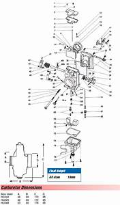 Mikuni Hsr42 Hsr45 Hsr48 New Style Carb Exploded View
