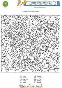 2017 En Chiffre Romain : coloriage magique 8 1 chiffres romains coloriage t te ~ Nature-et-papiers.com Idées de Décoration