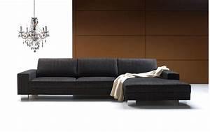 canape d39angle quattro gris meridienne droite set1 bona With canapé d angle contemporain